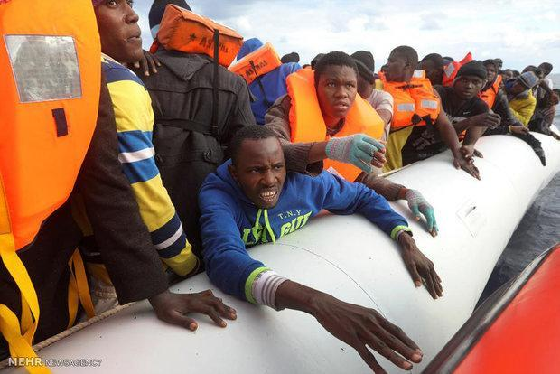 75 هزار مهاجر وارد کشورهای اروپایی گردیده اند