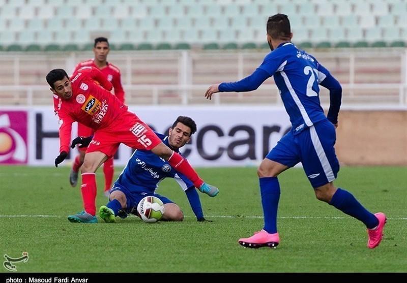 لیگ برتر فوتبال، برتری قاطع تراکتورسازی مقابل استقلال خوزستان در نیمه نخست