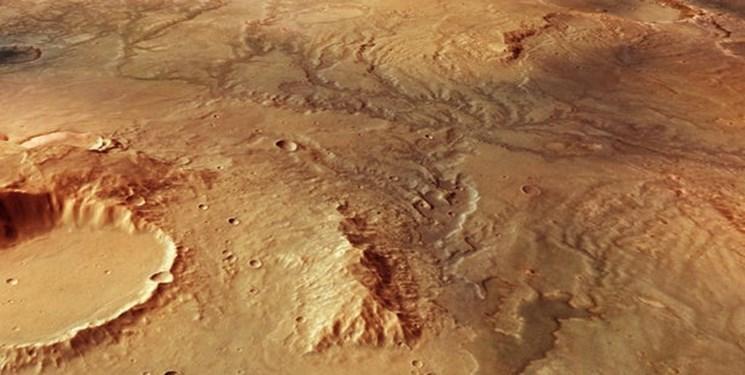 کشف ردی از رودخانه ها بر سطح مریخ
