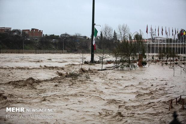 خسارت سیل به 1500 واحد مسکونی در مازندران