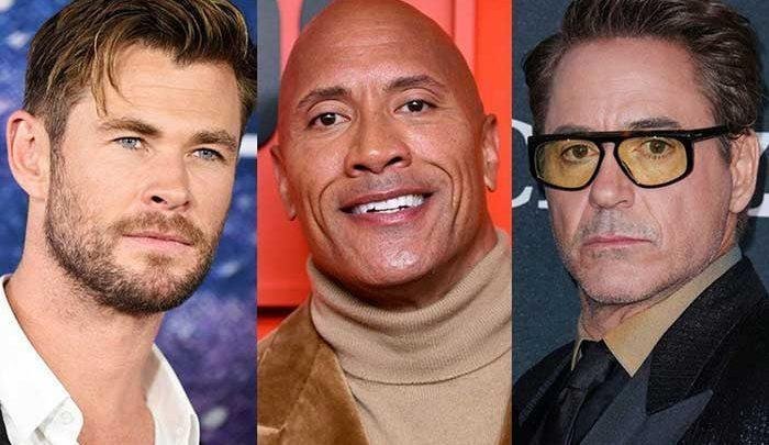 تازه ترین فهرست پردرآمدترین بازیگران منتشر شد، راک در صدر