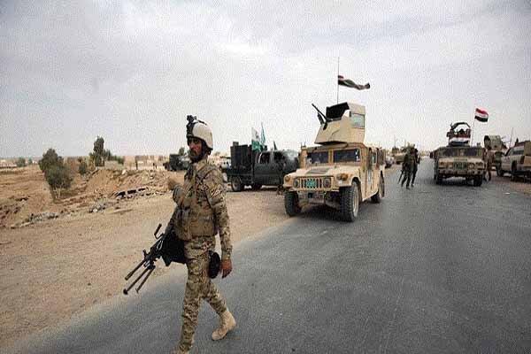 عملیات ضد تروریستی ارتش عراق در محور غربی موصل