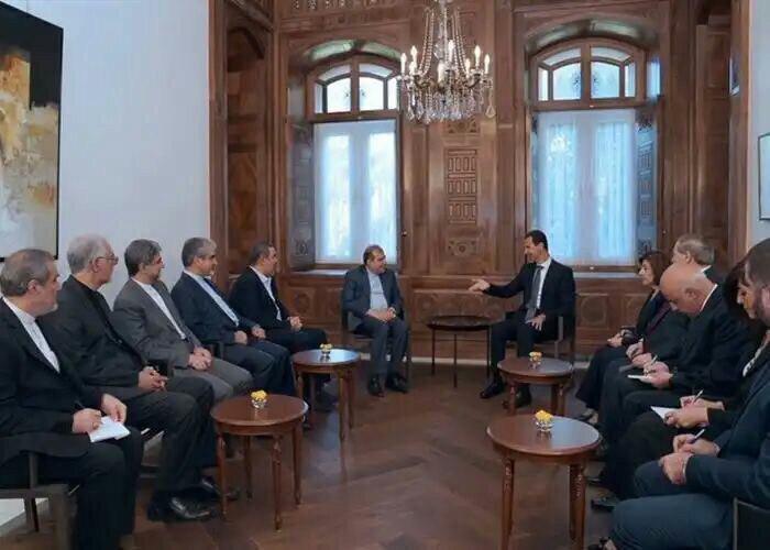 دیدار دستیار ارشد ظریف با بشار اسد