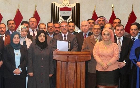 ائتلاف المحور الوطنی مجلس عراق را تحریم کرد