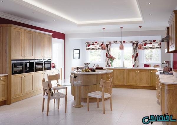 انتخاب پرده مناسب آشپزخانه