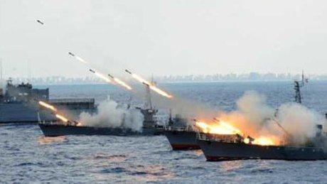 بزرگترین رزمایش دریایی مشترک مصر و روسیه در آب های مدیترانه
