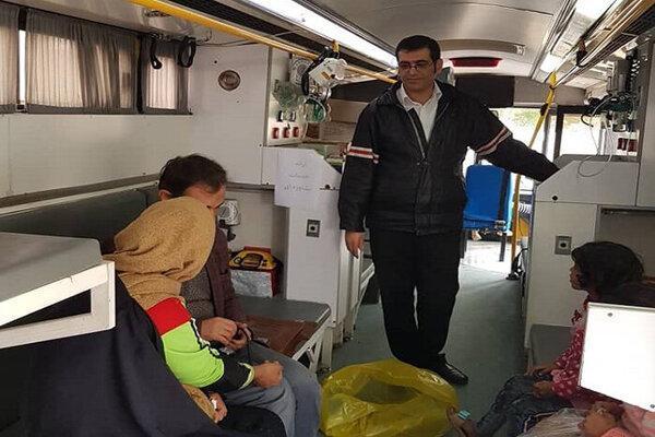 ارائه خدمات درمانی به 1450 بیمار در مناطق آبگرفته اهواز