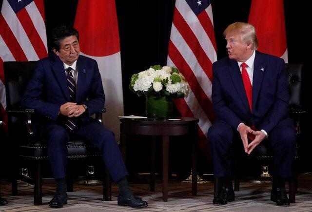 ترامپ و شینزو آبه تلفنی درباره کره شمالی گفت وگو کردند