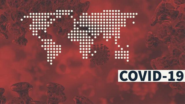 2462 نفر قربانی کرونا در دنیا